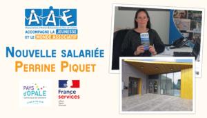 Nouvelle salariée – Perrine PIQUET